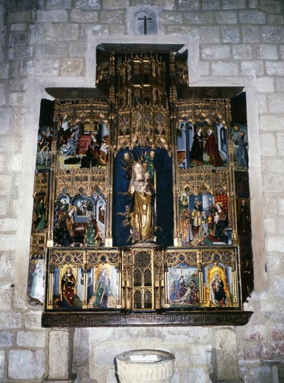 Retablo de la Antigua Iglesia Parroquial